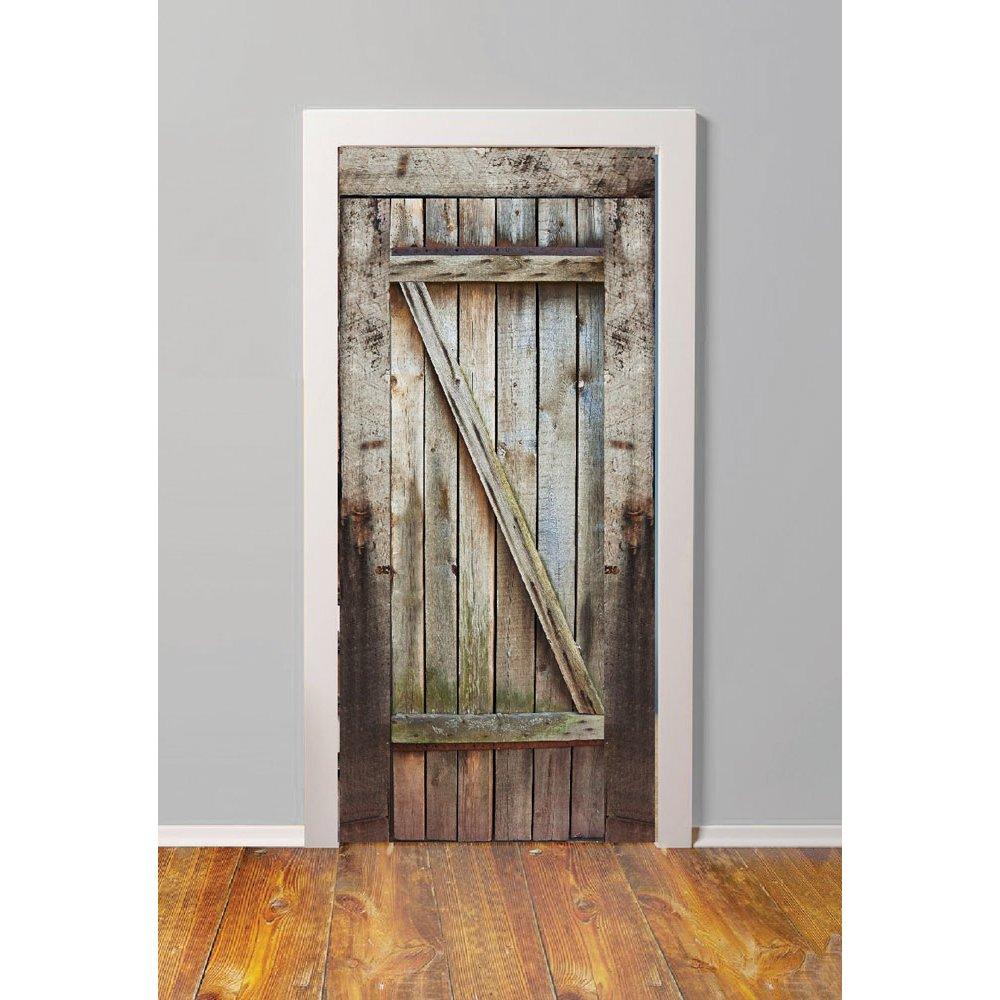 Αυτοκόλλητο πόρτας - Παλιά Πόρτα 2
