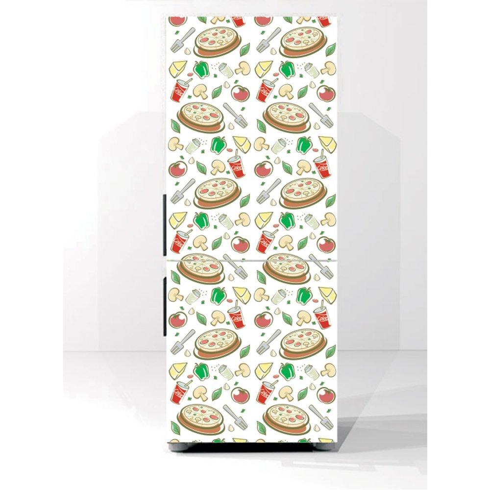Αυτοκόλλητο ψυγείου - Υλικά 2