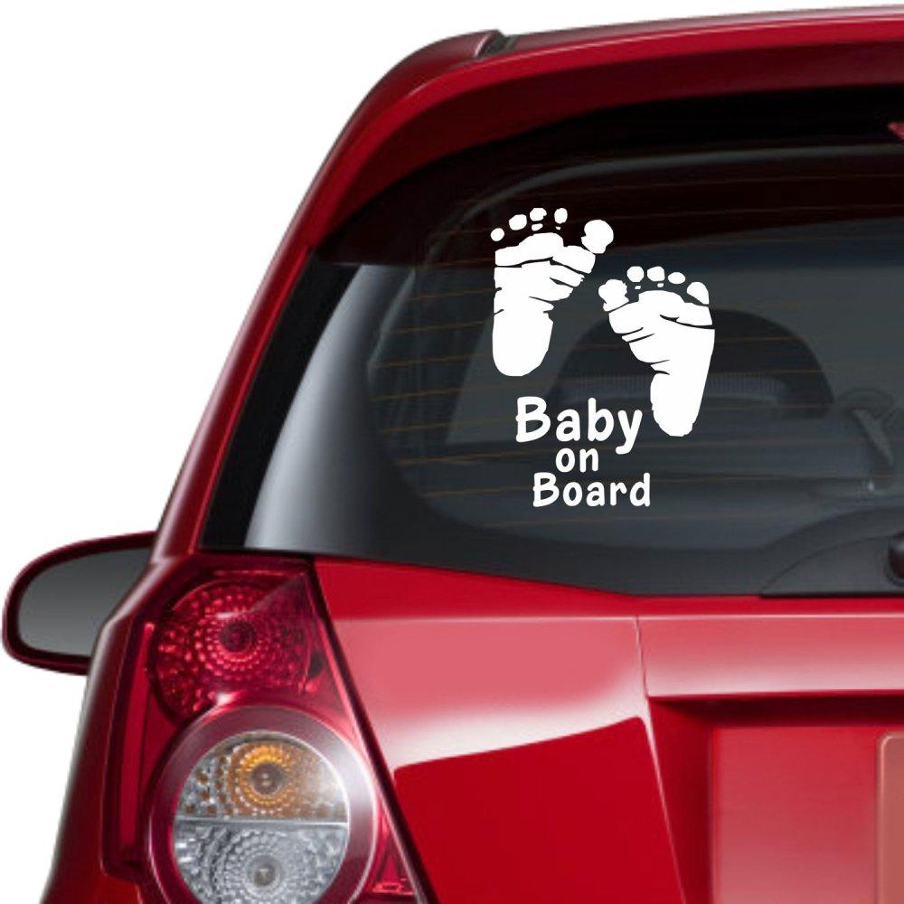 Αυτοκόλλητο αυτοκινήτου - Baby on board 4