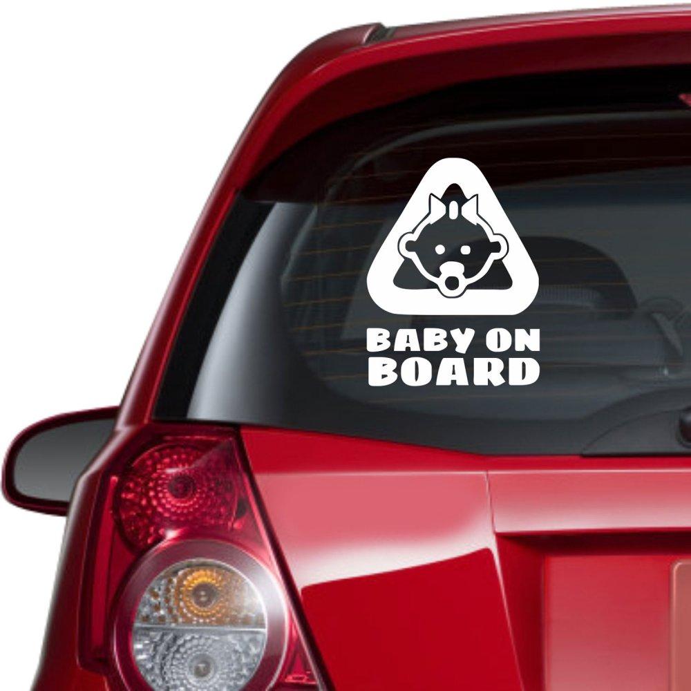 Αυτοκόλλητο αυτοκινήτου - Baby on Board 6