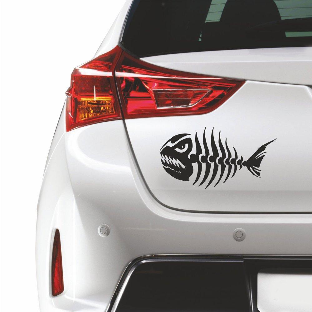 Αυτοκόλλητο αυτοκινήτου - Ψαροκόκκαλο