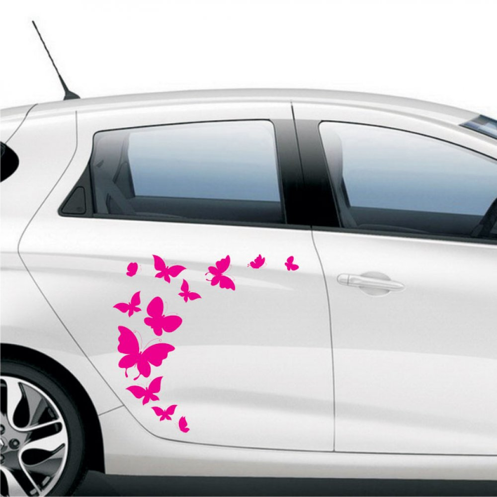 Αυτοκόλλητο αυτοκινήτου - Πεταλούδες