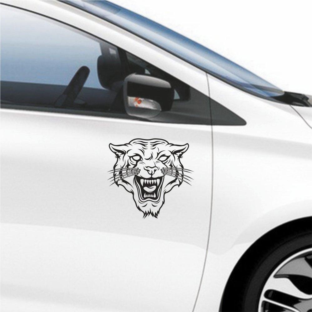 Αυτοκόλλητο αυτοκινήτου - Τίγρης