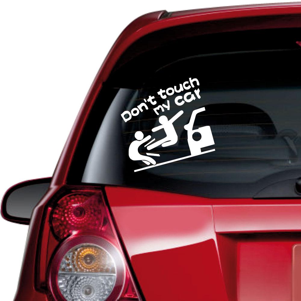 Αυτοκόλλητο αυτοκινήτου - Don't Touch my Car 03