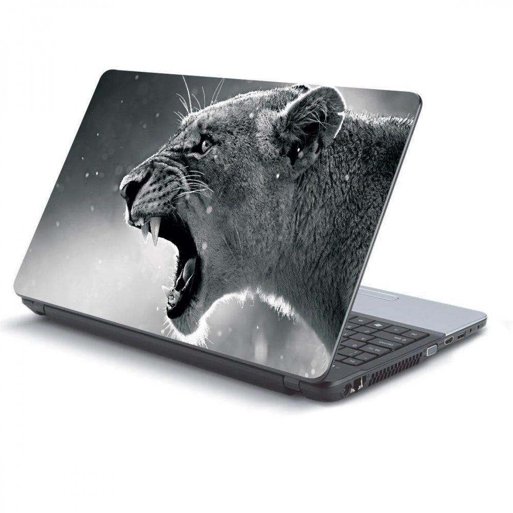 Αυτοκόλλητο Laptop - White lion