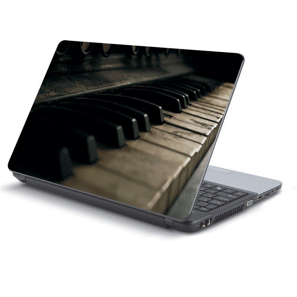 Αυτοκόλλητο Laptop - Piano