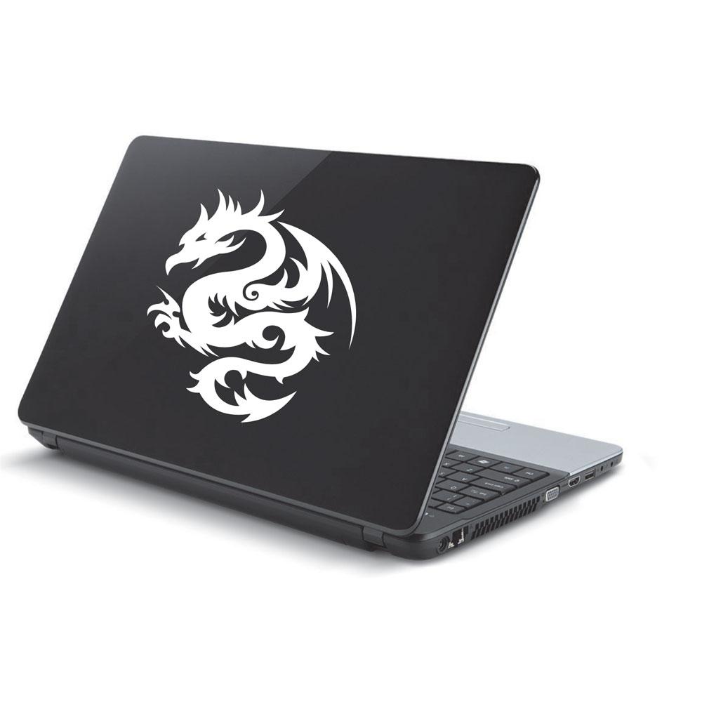 Αυτοκόλλητο Laptop - Tribal dragon