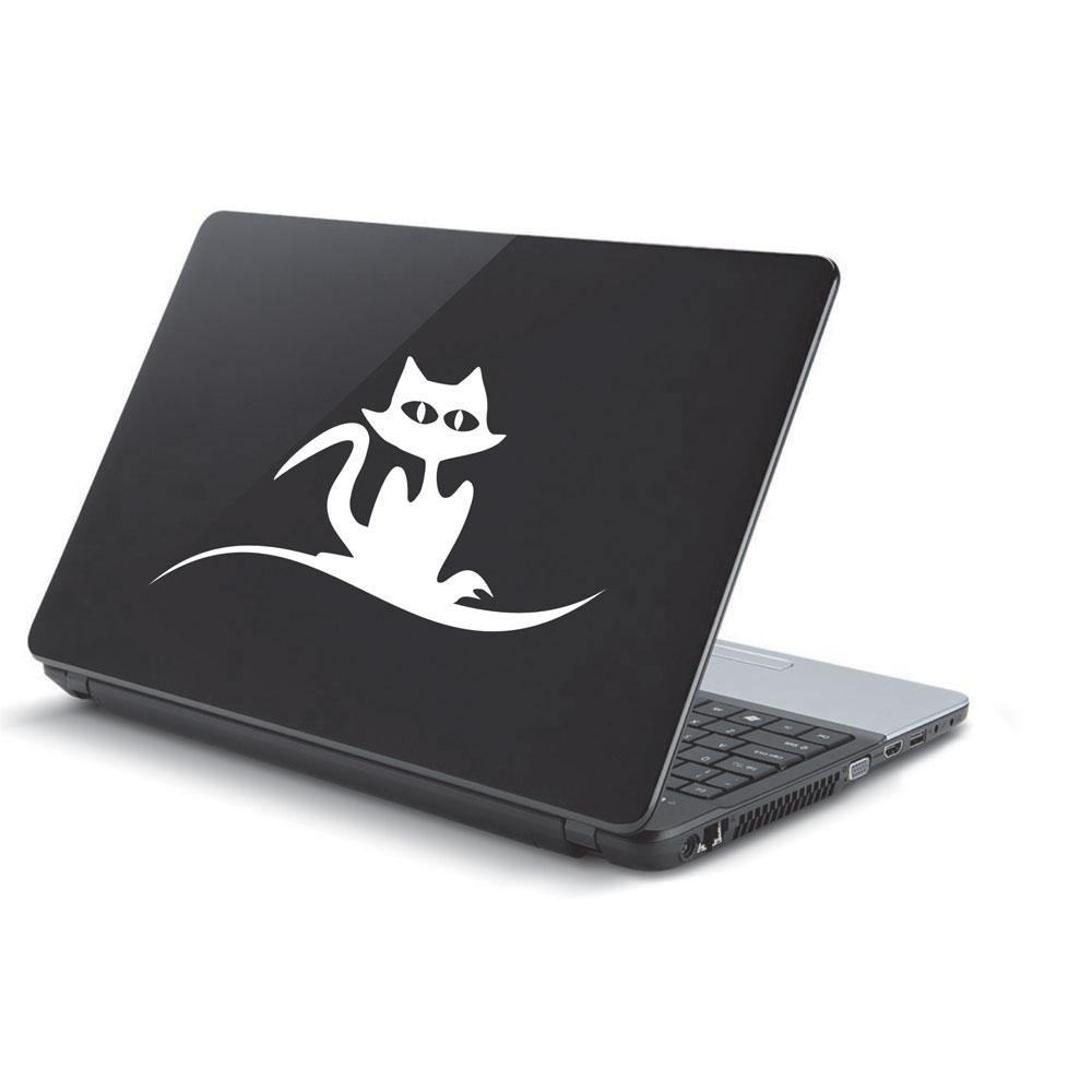 Αυτοκόλλητο Laptop - Γάτα