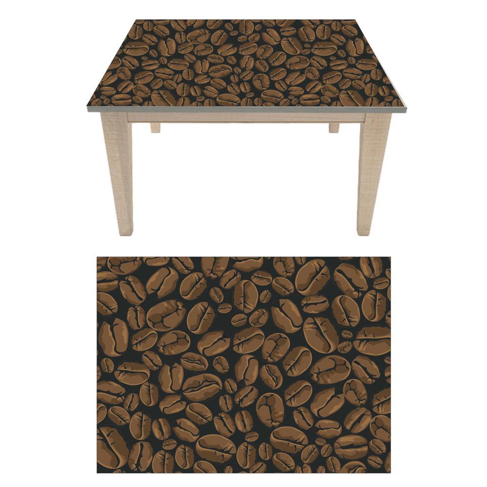 Αυτοκόλλητο τραπεζιού - Coffee beans