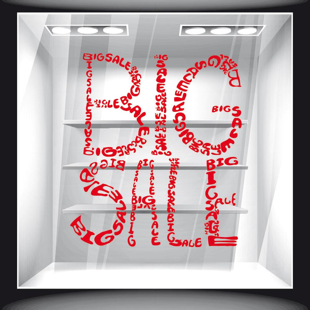 Αυτοκόλλητο Εκπτώσεων - Big Sale 02
