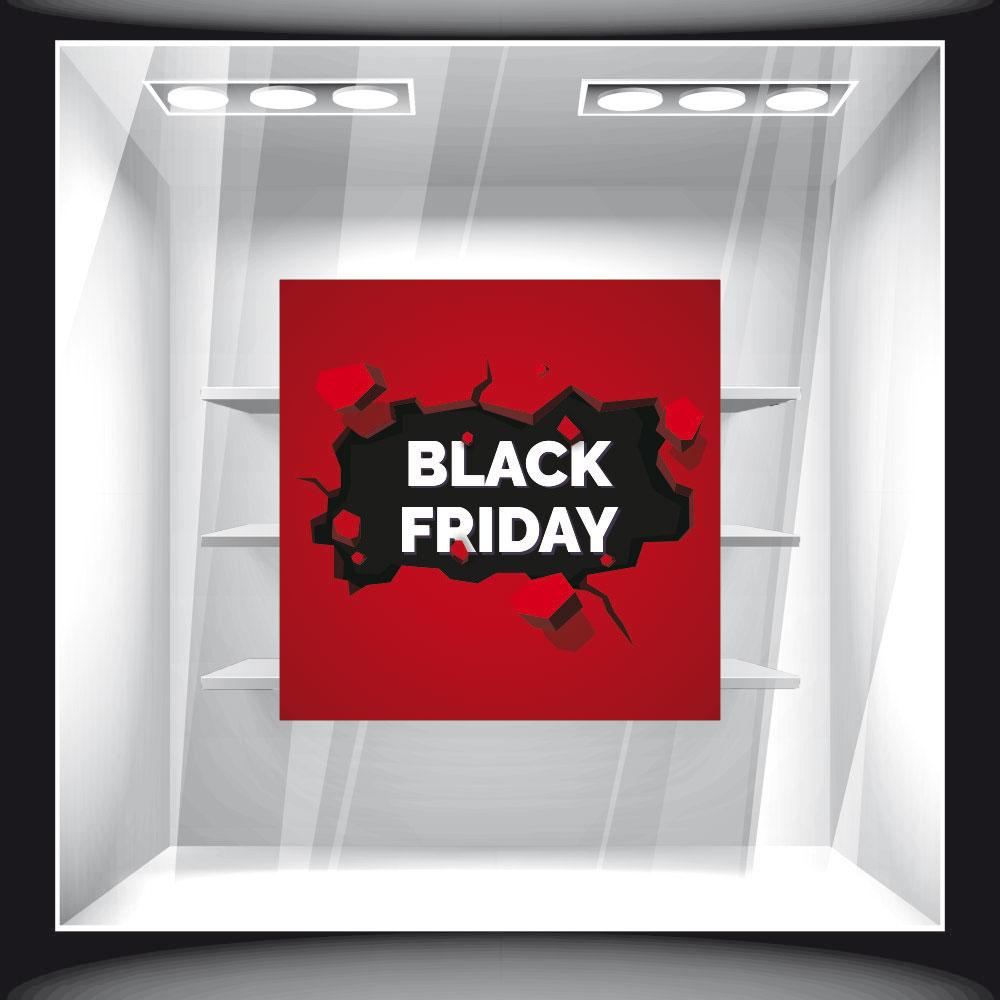 Αυτοκόλλητο Εκπτώσεων - Black Friday 56