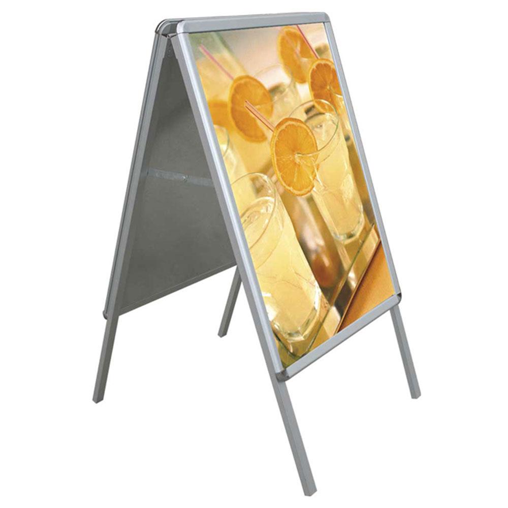 A-Board stand πεζοδρομίου με διπλή εκτύπωση