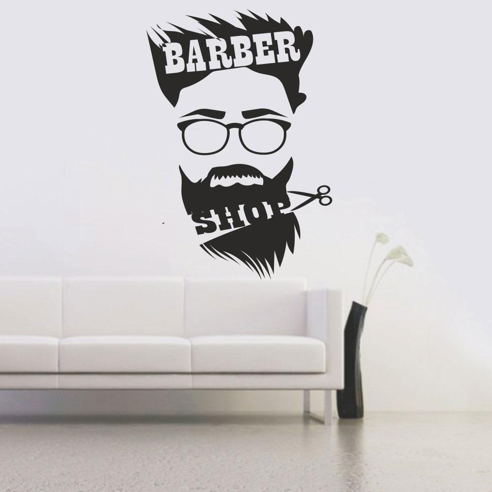 Αυτοκόλλητο τοίχου - Barber Shop 2