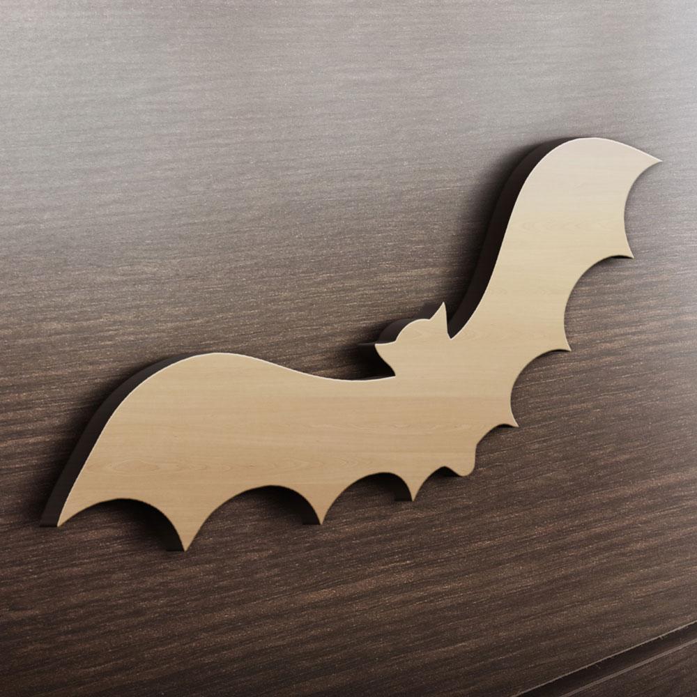 MDF Ξύλινο Σχέδιο - Νυχτερίδα