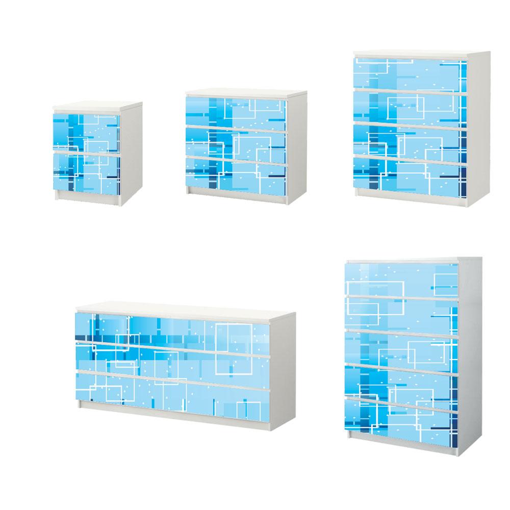 Αυτοκόλλητο Συρταριέρας - Abstract 03