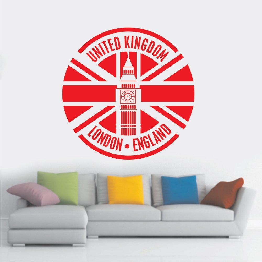 Αυτοκόλλητο Τοίχου - Αγγλία