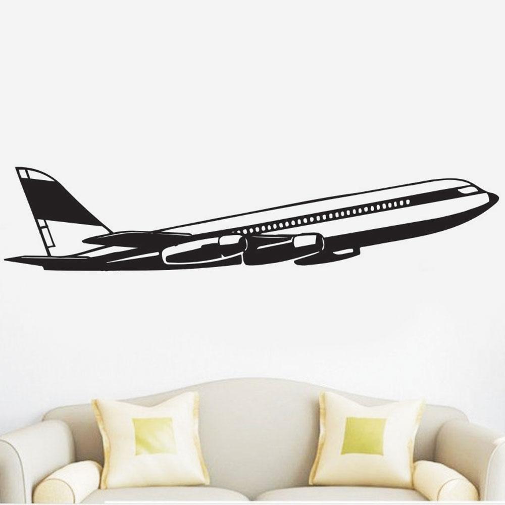 Αυτοκόλλητο τοίχου - Αεροπλάνο