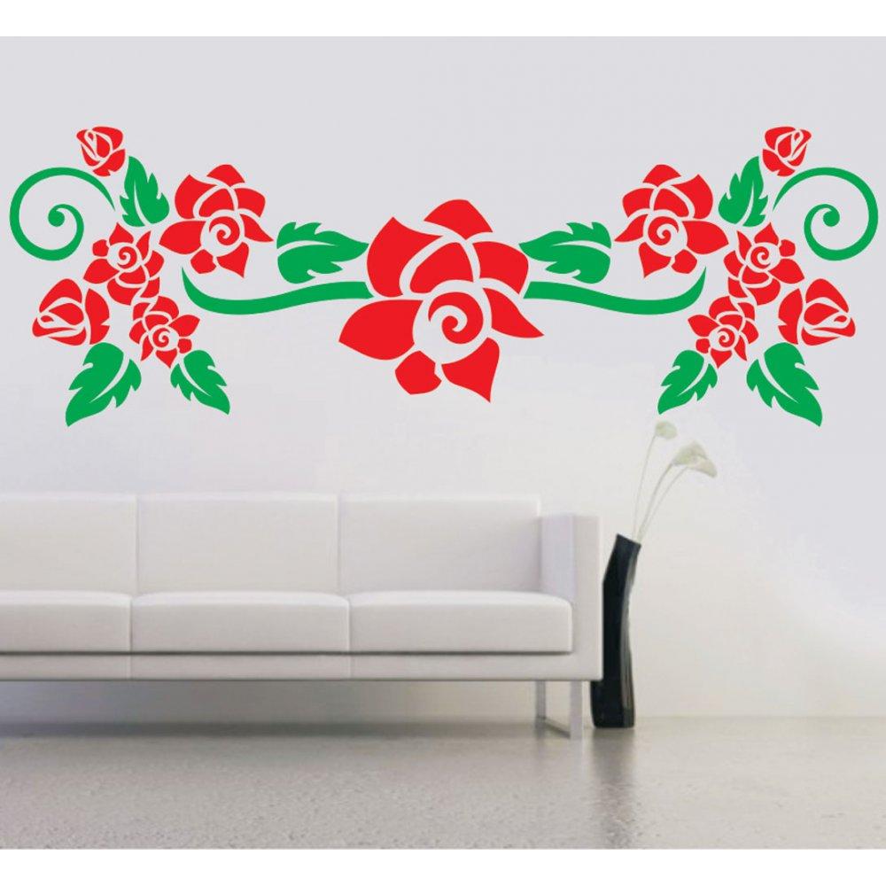 Αυτοκόλλητο τοίχου - Τριανταφυλλιά 2