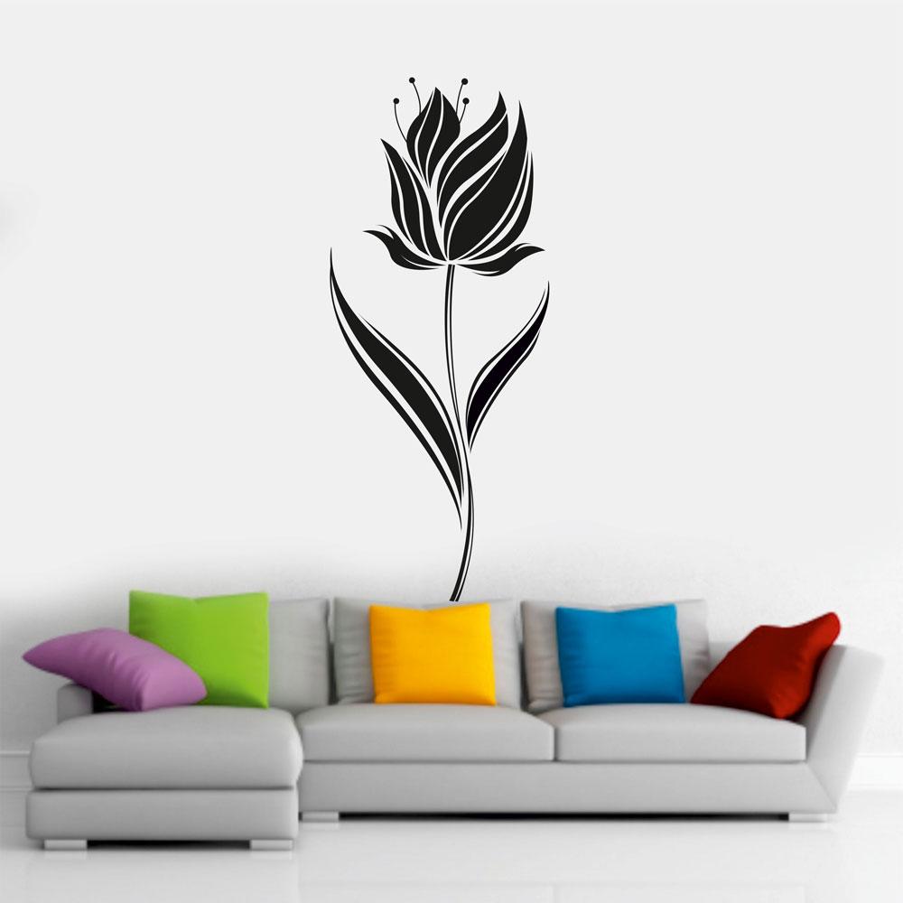 Αυτοκόλλητο τοίχου - Λουλούδι