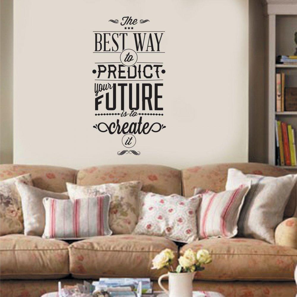 Αυτοκόλλητο τοίχου - Create the future