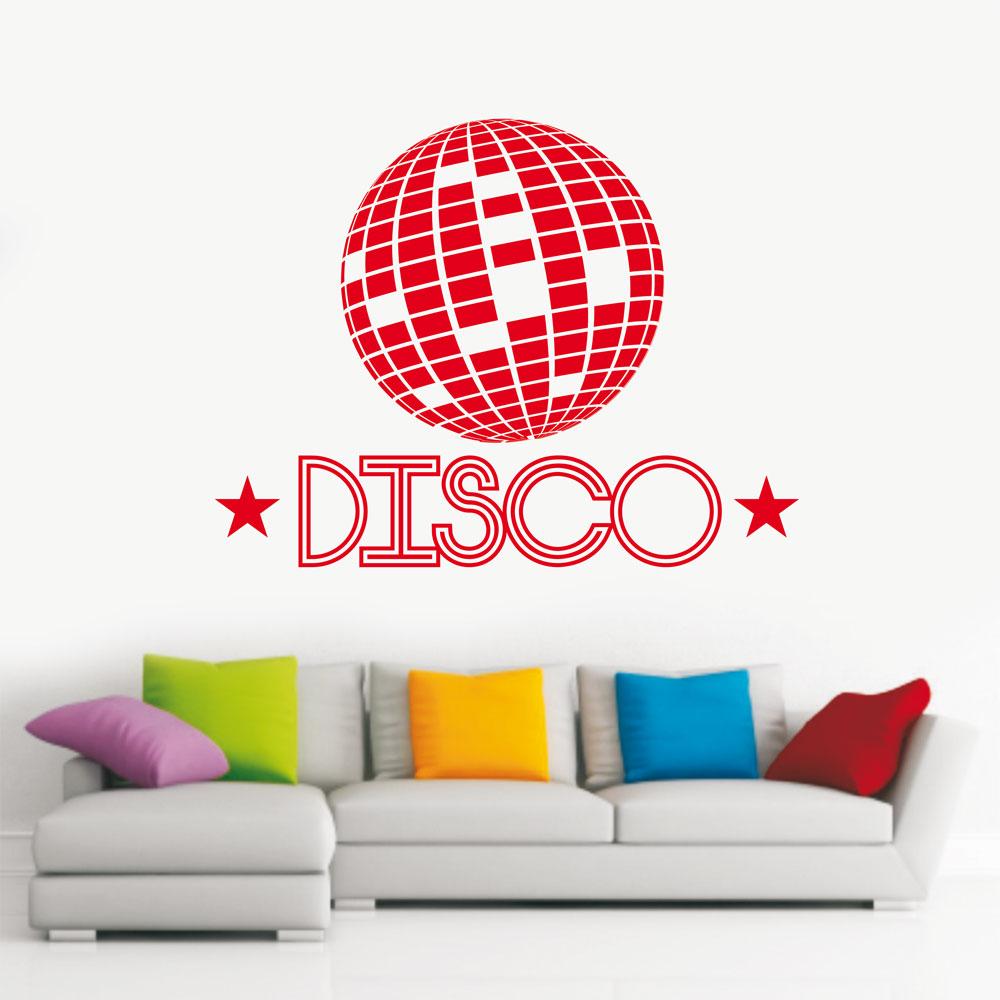 Αυτοκόλλητο Τοίχου - Disco