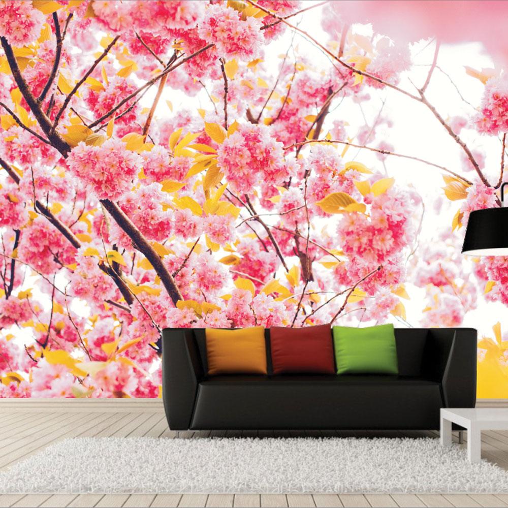Αυτοκόλλητη Ταπετσαρία - Beautiful flowers