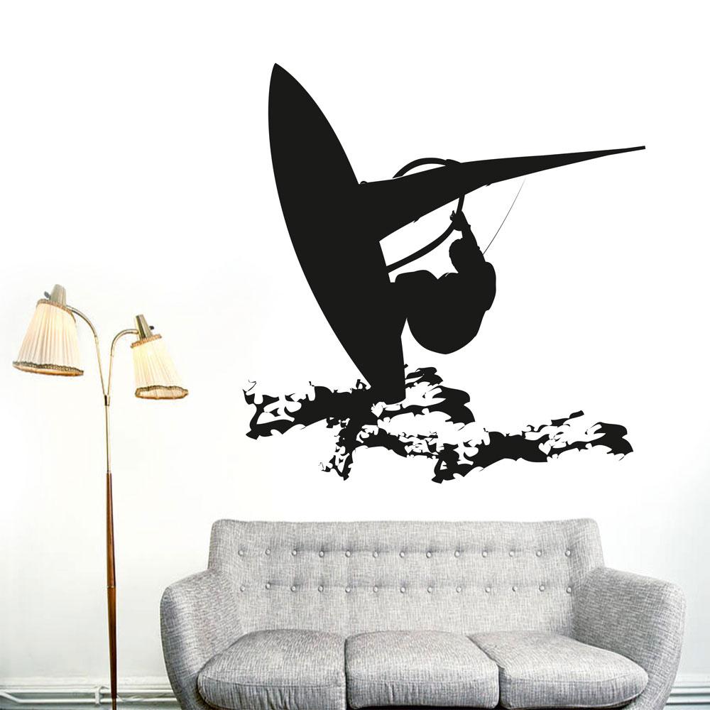 Αυτοκόλλητο τοίχου - Windsurfing