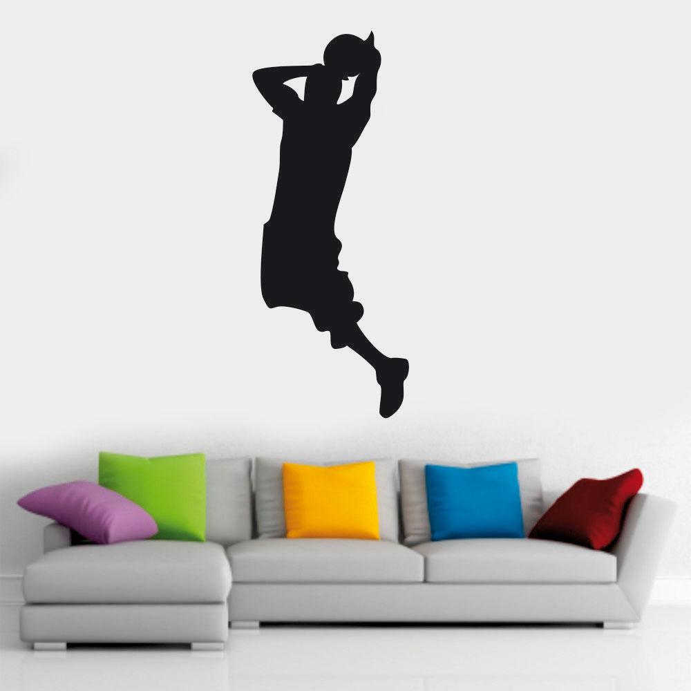 Αυτοκόλλητο τοίχου - Basketball 01