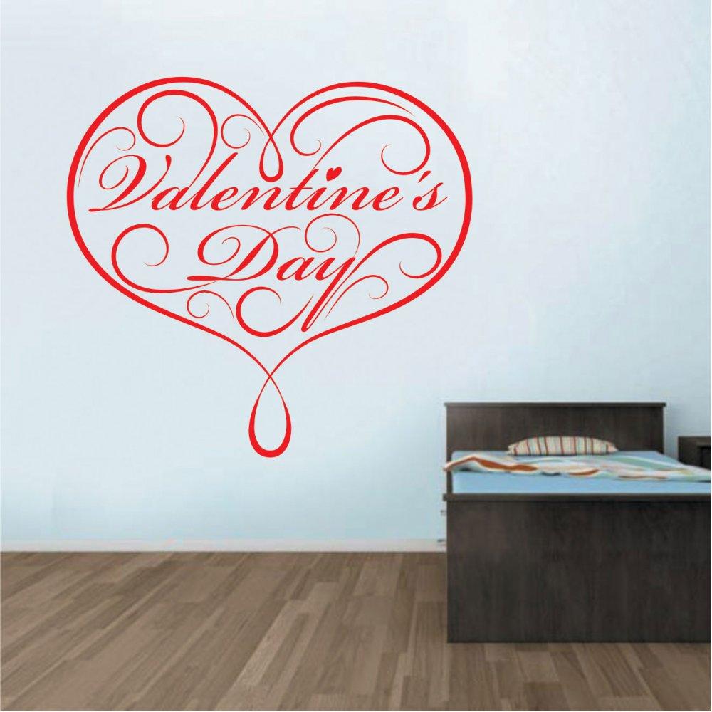 Αυτοκόλλητο Τοίχου - Valentine's day