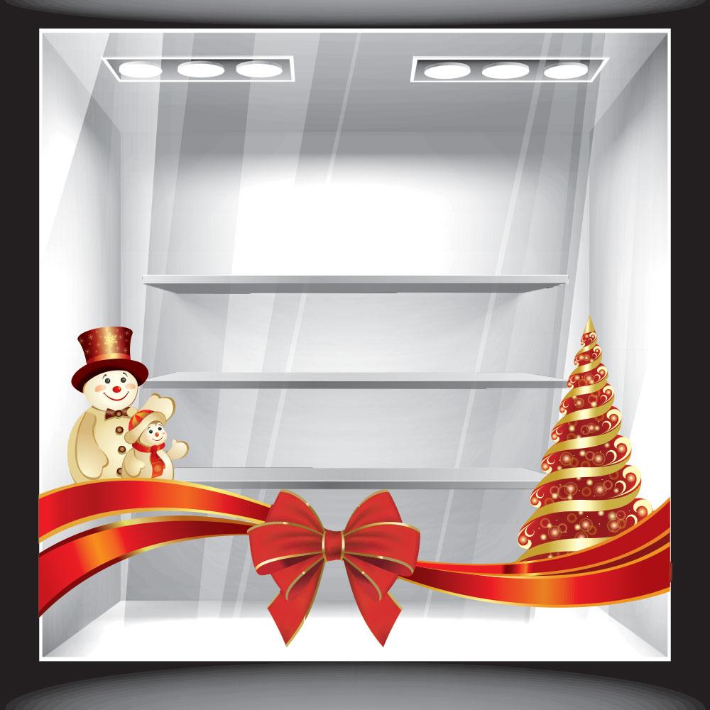 e8e251e284 Αυτοκόλλητο βιτρίνας - Χριστουγεννιάτικο 2