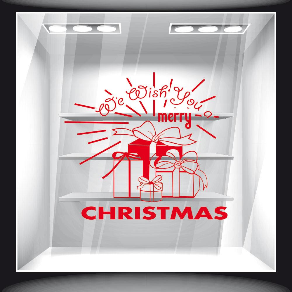 Αυτοκόλλητο Βιτρίνας - Χριστουγεννιάτικο 58