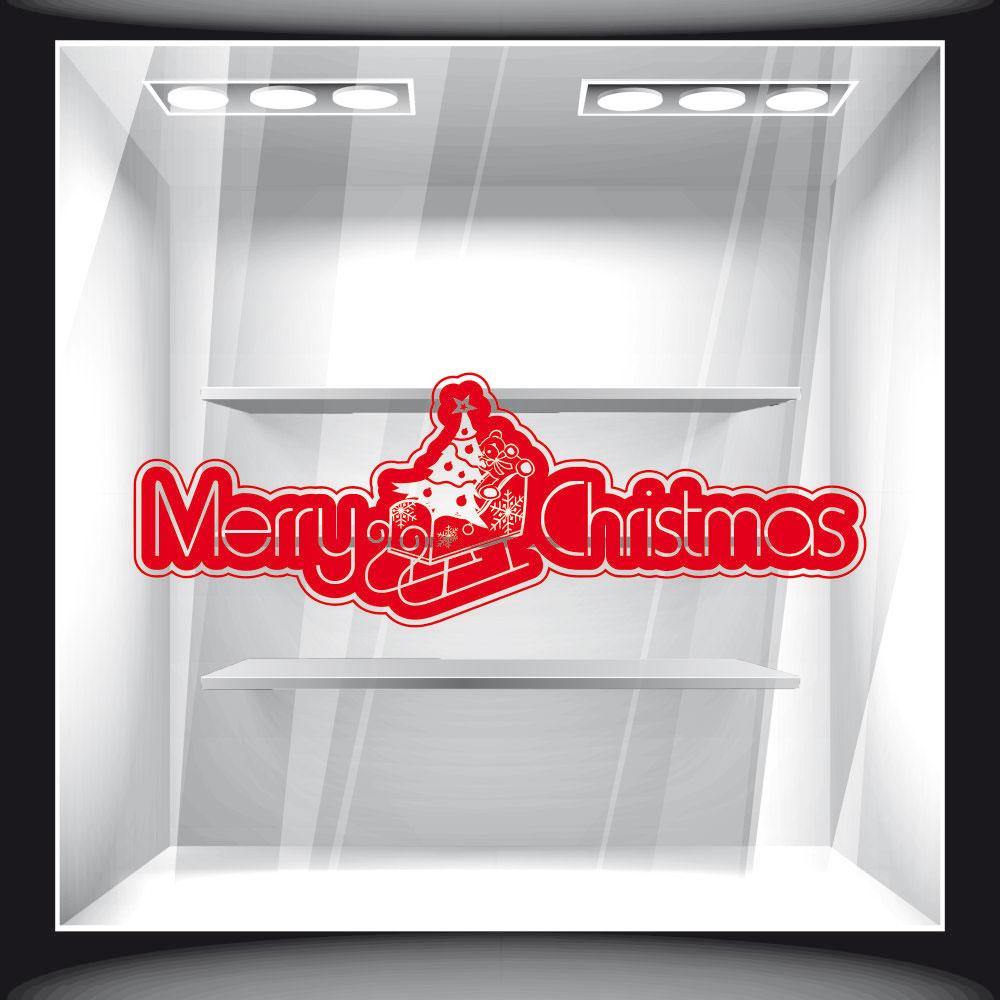 Αυτοκόλλητο Βιτρίνας - Χριστουγεννιάτικο 73